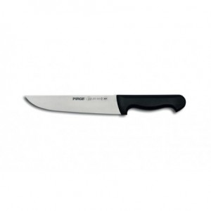 Μαχαίρι κρέατος 21cm με μαύρη ή κόκκινη λαβή 23-07-08x