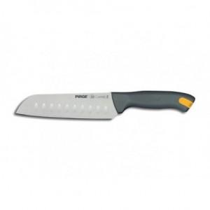 """Μαχαίρι τεμαχισμού """"SANTOKOU"""" 18cm με γκρι λαβή 23-07-113"""