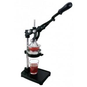 Πρέσα INOX για ρόδι και πορτοκάλι επαγγελματική 18/10 INOX με στιβαρή λαβή σε μαύρο χρώμα 24-02-004