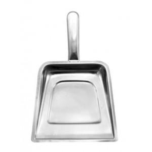 Φτυαράκι INOX για ψίχουλα και διάφορα απορρίμματα στο τραπέζι 17x17cm 23-13-026