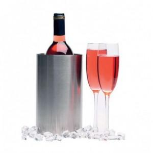 Ψύκτης κρασιού ισοθερμικός INOX 12x18hcm 23-15-030