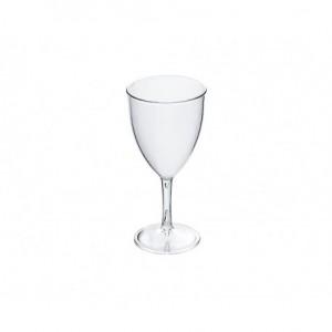 Ποτήρι κρασιού PC 280ml διάφανο (πισίνας) 23-45-167