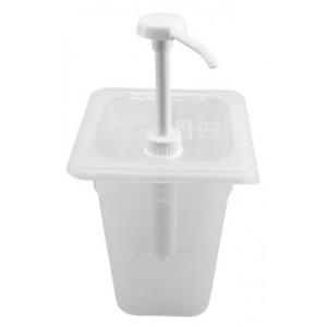 Δοχείο πλαστικό με ντισπένσερ 30ml 23-45-223