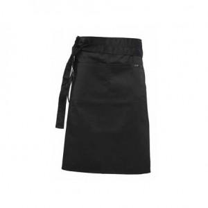 Ποδιά μέσης γονάτου με δέσιμο φαρδιάς ζώνης και μεγάλη κεντρική τσέπη με δύο χωρίσματα σε διάφορα χρώματα 75x62hcm 25-00-00x