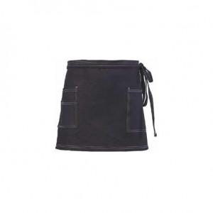 Ποδιά τζιν με τριπλή τσέπη δεξιά και μονή τσέπη αριστερά 65x37hcm 25-00-087